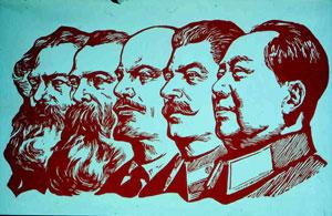"""Die Fünf """"großen Lehrer"""" des Kommunismus"""