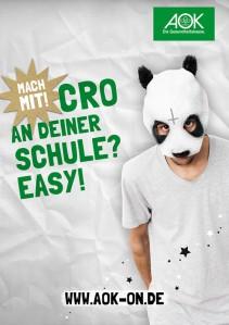 """MITMACHEN IST SO """"EASY"""": Online-Quiz des AOK-Schulmeister 2013 gestartet - Siegerschule gewinnt Exklusiv-Konzert mit Cro"""